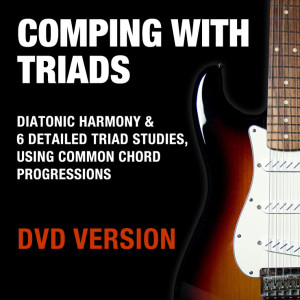 Comping With Triads - DVD + Download