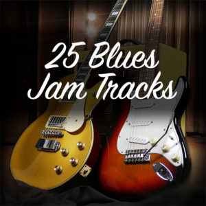 25 Blues Jam Tracks