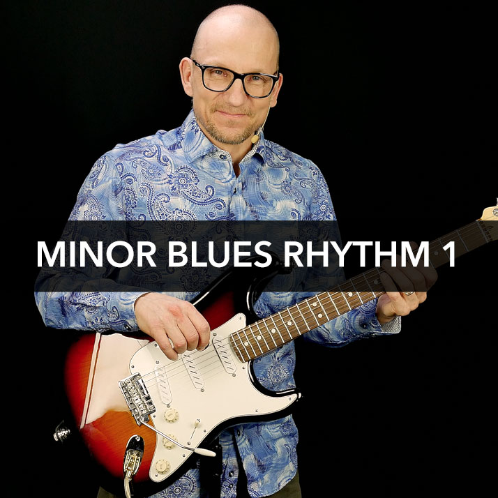 Minor Blues Rhythm 1